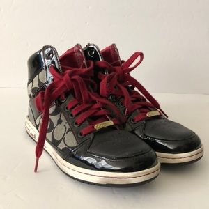 Coach High Top Womens Sneakers size 8